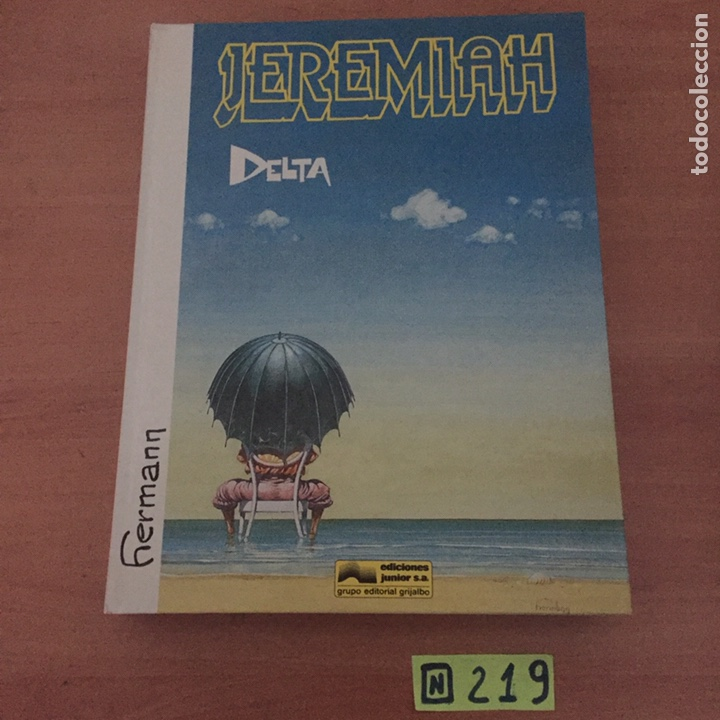JEREMIAH DELTA (Tebeos y Comics - Grijalbo - Jeremiah)