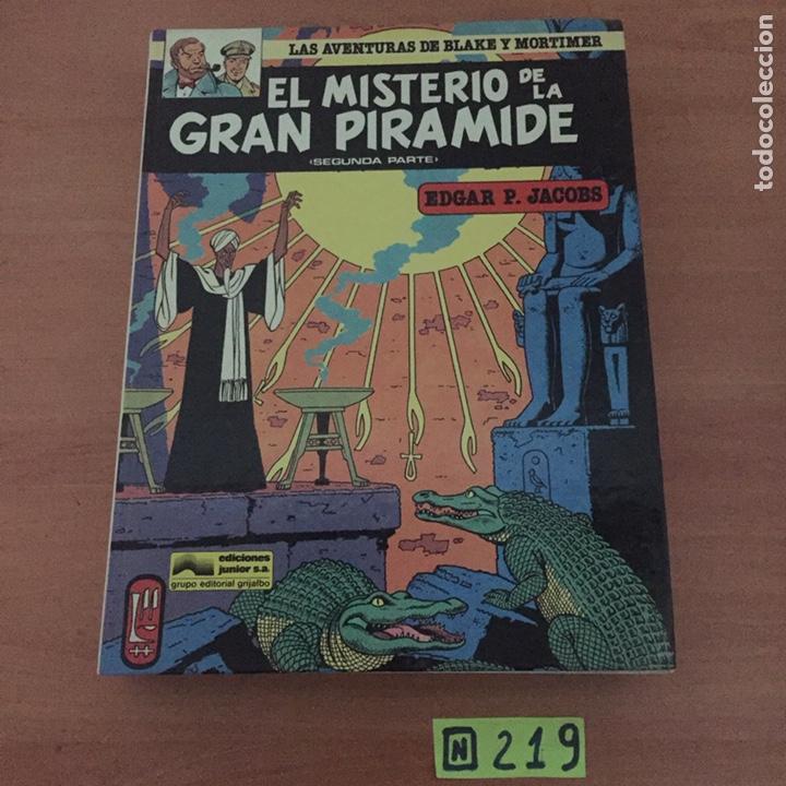 Cómics: EL MISTERIO DE LA GRAN PIRAMIDE nºs 1 y 2 - Foto 2 - 234131765