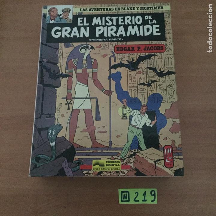 EL MISTERIO DE LA GRAN PIRAMIDE NºS 1 Y 2 (Tebeos y Comics - Grijalbo - Otros)