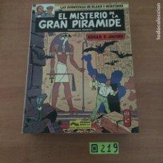 Cómics: EL MISTERIO DE LA GRAN PIRAMIDE NºS 1 Y 2. Lote 234131765