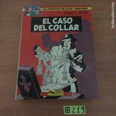 Cómics: EL CASO DEL COLLAR, LAS AVENTURAS DE BLAKE Y MORTIMER,. Lote 234132570