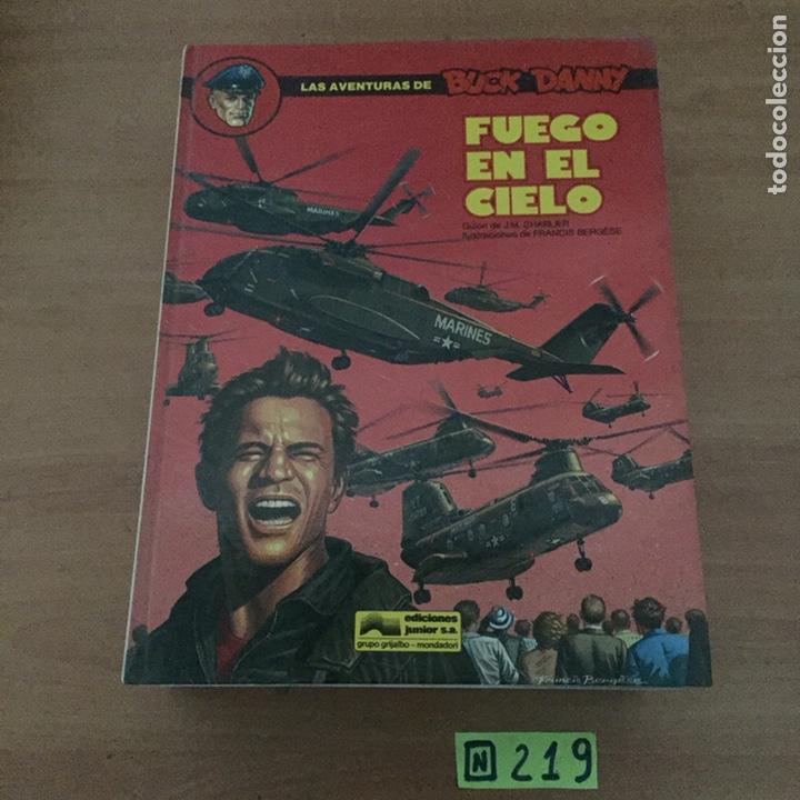 FUEGO EN EL CIELO (Tebeos y Comics - Grijalbo - Buck Danny)