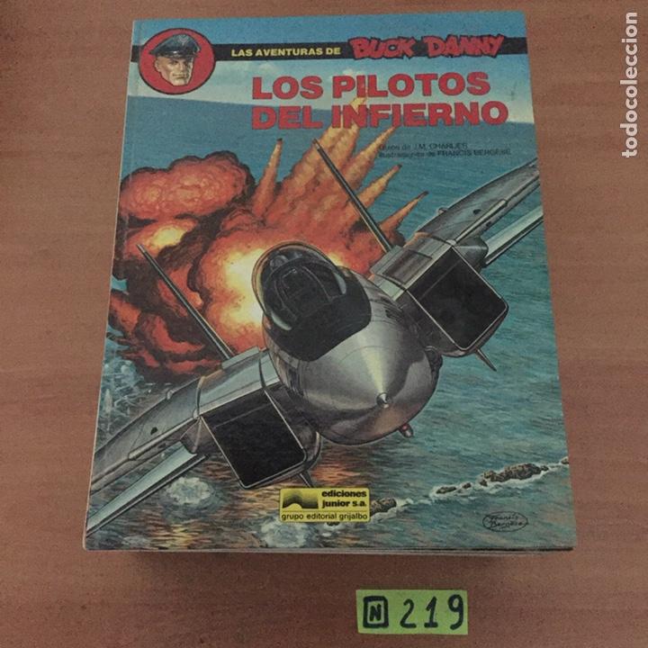LOS PILOTOS DEL INFIERNO (Tebeos y Comics - Grijalbo - Buck Danny)