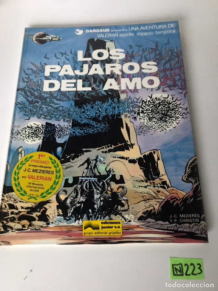 LOS PÁJAROS DEL AMO - EDICIONES JUNIOR (Tebeos y Comics - Grijalbo - Otros)