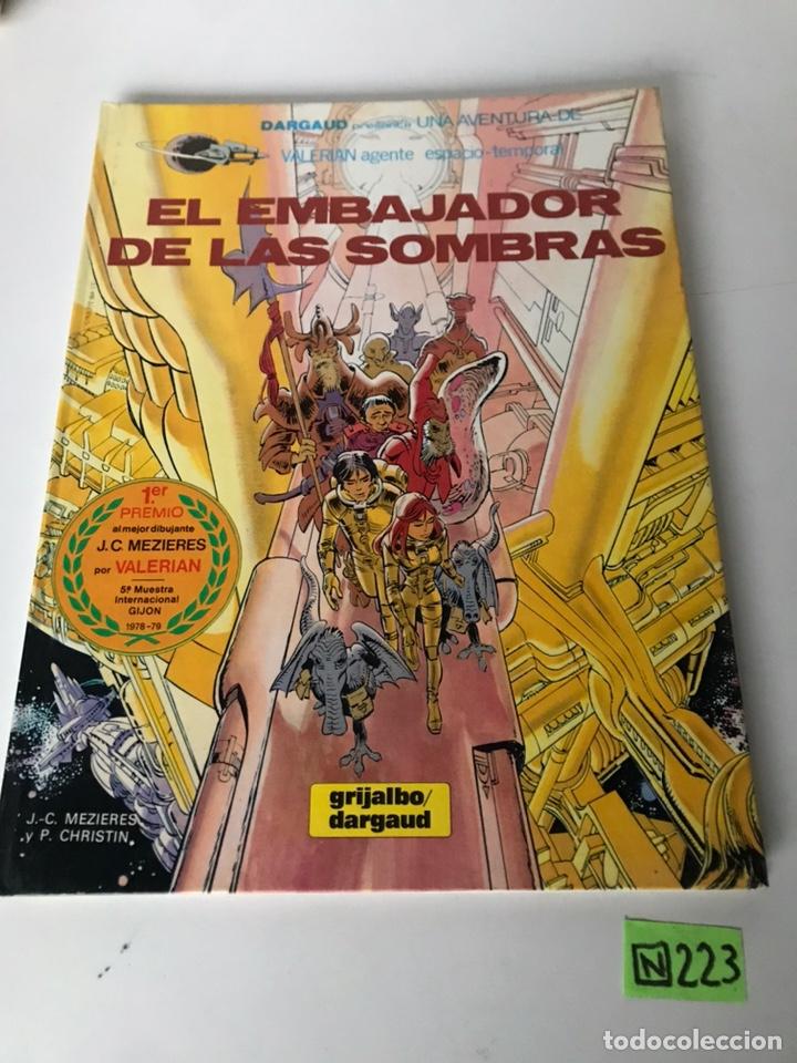 EL EMBAJADOR DE LAS SOMBRAS - GRIJALBO / DARGAUD (Tebeos y Comics - Grijalbo - Otros)