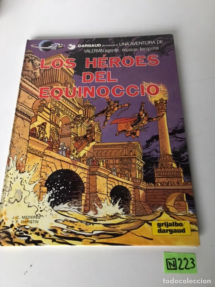 LOS HÉROES DEL EQUINOCCIO (Tebeos y Comics - Grijalbo - Otros)