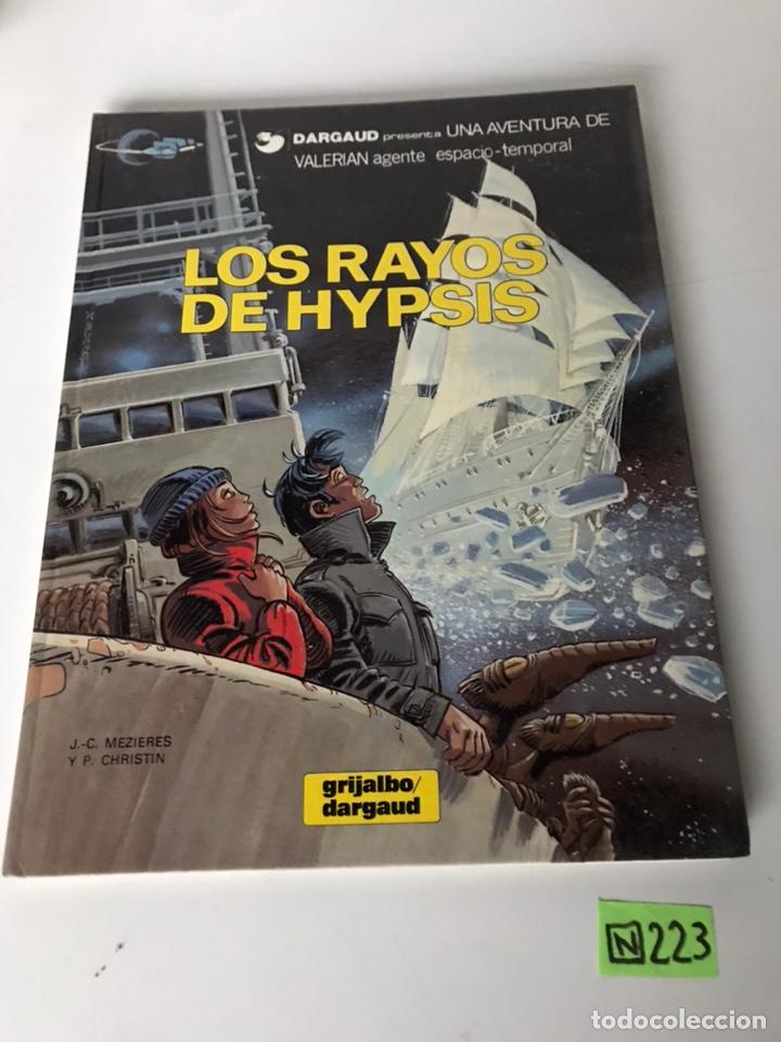 LOS RAYOS DE HYPSIS - GRIJALBO / DARGAUD (Tebeos y Comics - Grijalbo - Otros)