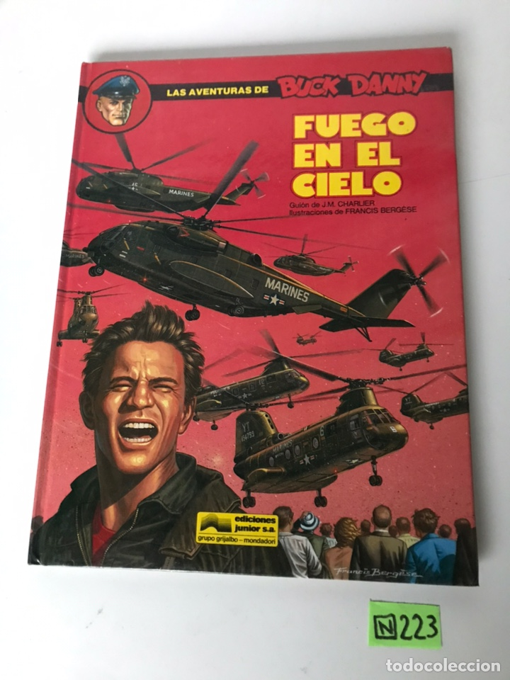 FUEGO EN EL CIELO - BUCK DANNY (Tebeos y Comics - Grijalbo - Buck Danny)