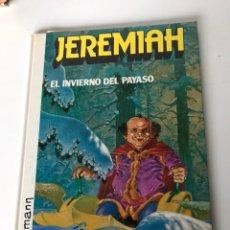 Cómics: JEREMIAH - EL INVIERNO DEEL PAYASO. Lote 234303740