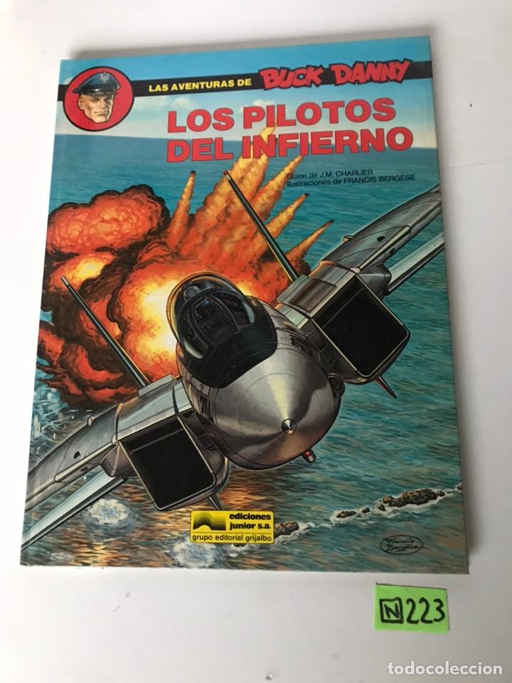 LOS PILOTOS DEL INFIERNO - LAS AVENTURAS DE BUCK DANNY (Tebeos y Comics - Grijalbo - Buck Danny)