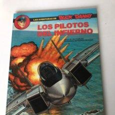 Cómics: LOS PILOTOS DEL INFIERNO - LAS AVENTURAS DE BUCK DANNY. Lote 234304300