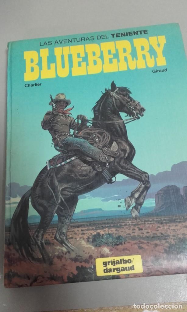 X BLUEBERRY INTEGRAL Nº 3, DE GIRAUD Y CHARLIER (INCLUYE 4 ALBUMES)(VER RELACION) (Tebeos y Comics - Grijalbo - Blueberry)