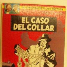 Cómics: EL CASO DEL COLLAR, LAS AVENTURAS DE BLAKE Y MORTIMER 1986. Lote 234358925