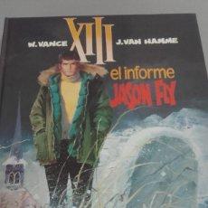 Cómics: X XIII Nº 6 EL INFORME JASON FLY, DE VANCE Y VAN HAMME (GRIJALBO). Lote 234366340