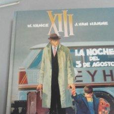Cómics: X XIII Nº 7 LA NOCHE DEL 3 DE AGOSTO, DE VANCE Y VAN HAMME (GRIJALBO). Lote 234366655
