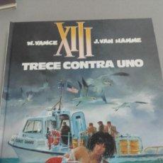 Cómics: X XIII Nº 8 TRECE CONTRA UNO, DE VANCE Y VAN HAMME (GRIJALBO). Lote 234366875