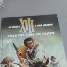 Cómics: X XIII Nº 11 TRES RELOJES DE PLATA, DE VANCE Y VAN HAMME (GRIJALBO). Lote 234367240