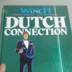 Cómics: X LARGO WYNCH 6 DUTCH CONNECTION, DE FRANQ Y VAN HAMME (GRIJALBO). Lote 234369165