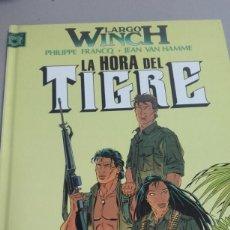 Cómics: X LARGO WYNCH 8 LA HORA DEL TIGRE, DE FRANQ Y VAN HAMME (GRIJALBO). Lote 234369350