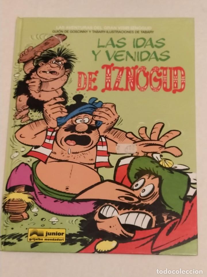 GRAN VISIR IZNOGOUD - LAS IDAS Y VENIDAS DE IZNOGUD - GRIJALBO 1995 (Tebeos y Comics - Grijalbo - Iznogoud)