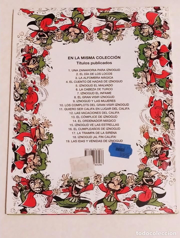 Cómics: GRAN VISIR IZNOGOUD - LAS IDAS Y VENIDAS DE IZNOGUD - GRIJALBO 1995 - Foto 3 - 234380840