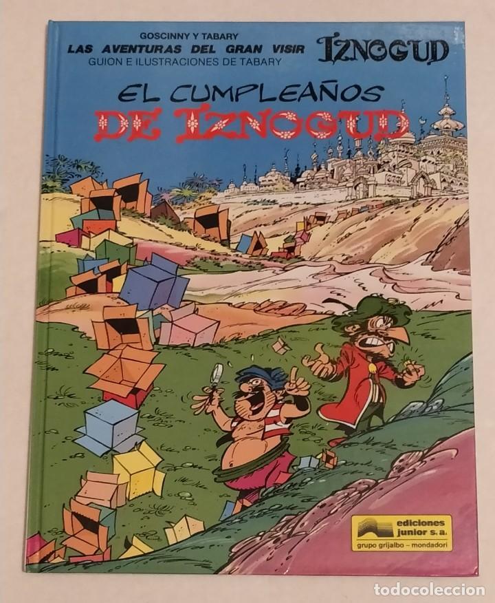 GRAN VISIR IZNOGOUD - EL CUMPLEAÑOS DE IZNOGUD - GRIJALBO 1993 (Tebeos y Comics - Grijalbo - Iznogoud)