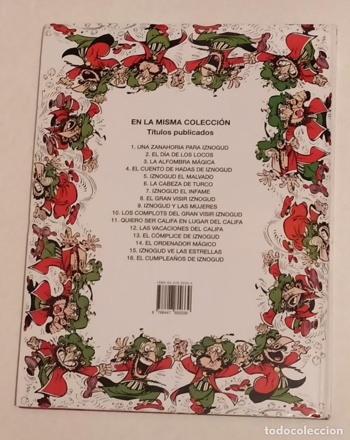 Cómics: GRAN VISIR IZNOGOUD - EL CUMPLEAÑOS DE IZNOGUD - GRIJALBO 1993 - Foto 3 - 234381530