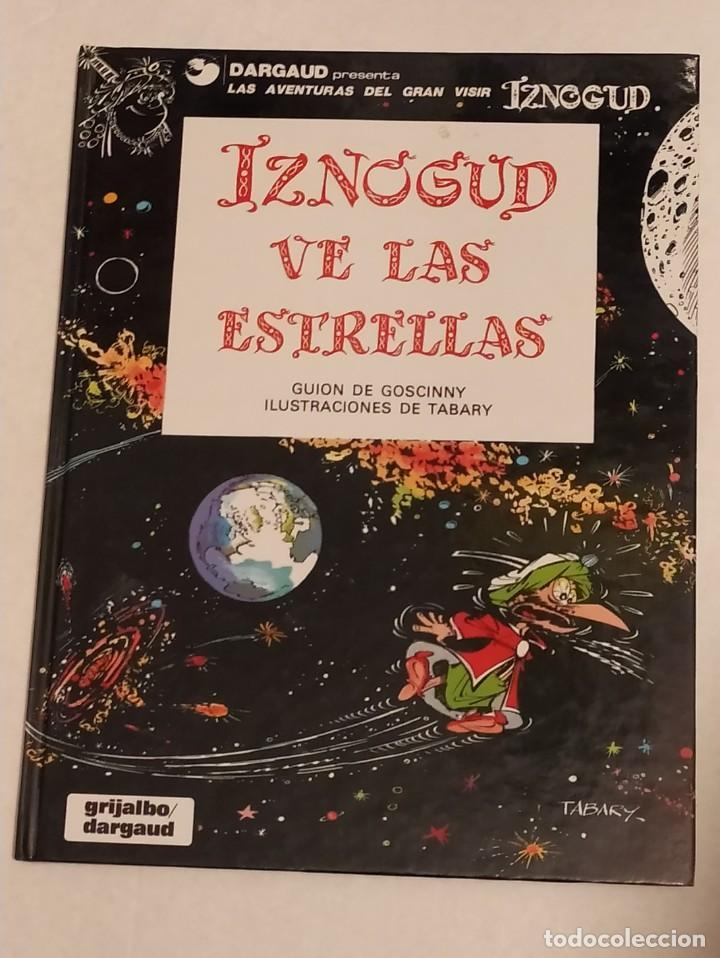 GRAN VISIR IZNOGOUD - IZNOGUD VE LAS ESTRELLAS - GRIJALBO 1992 (Tebeos y Comics - Grijalbo - Iznogoud)