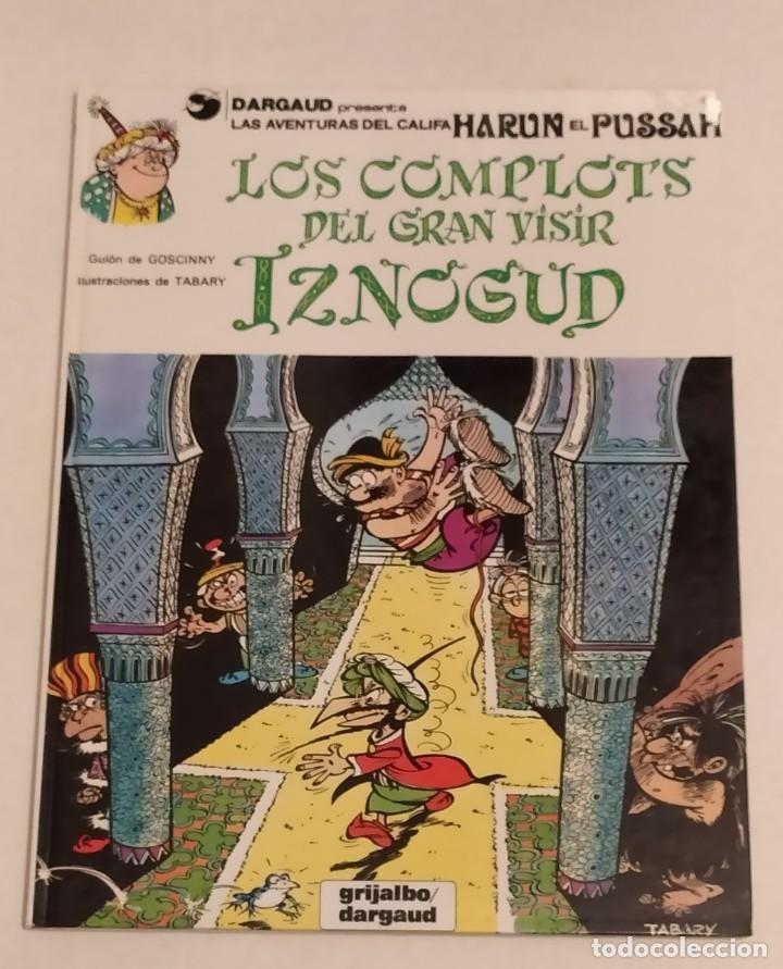GRAN VISIR IZNOGOUD - LOS COMPLOTS DEL GRAN VISIR IZNOGUD - GRIJALBO 1990 (Tebeos y Comics - Grijalbo - Iznogoud)
