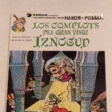 Cómics: GRAN VISIR IZNOGOUD - LOS COMPLOTS DEL GRAN VISIR IZNOGUD - GRIJALBO 1990. Lote 234384830