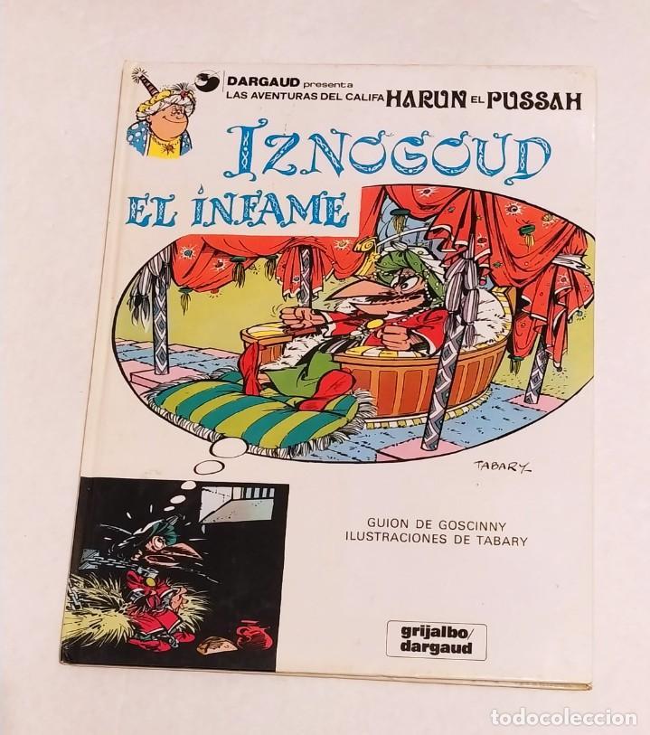 GRAN VISIR IZNOGOUD - IZNOGUD EL INFAME - GRIJALBO 1979 (Tebeos y Comics - Grijalbo - Iznogoud)