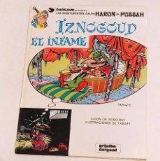 Cómics: GRAN VISIR IZNOGOUD - IZNOGUD EL INFAME - GRIJALBO 1979. Lote 234386205