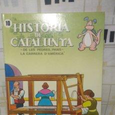 Cómics: HISTORIA DE CATALUNYA. Lote 234485785