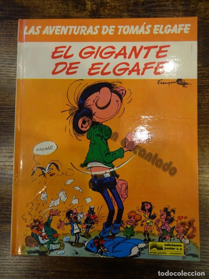 LAS AVENTURAS DE TOMAS ELGAFE. EL GIGANTE DEL ELGAFE. GRIJALBO (Tebeos y Comics - Grijalbo - Otros)