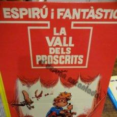 Cómics: LA VALL DELS PROSCRITS. ESPIRÚ I FANTÀSTIC. GRIJALBO. Lote 234709685