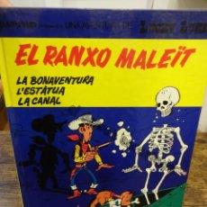 Cómics: LUCKY LUKE. EL RANXO MALEÏT. GRIJALBO. Lote 234710380