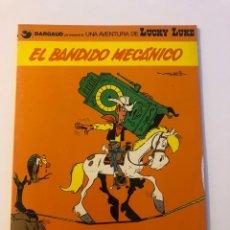 Cómics: LUCKY LUKE EL BANDIDO MECANICO DARGAUD GRIJALBO 1982. Lote 234909620