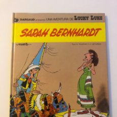 Cómics: LUCKY LUKE SARAH BERNHARDT DARFAUD GRIJALBO 1982. Lote 234910145