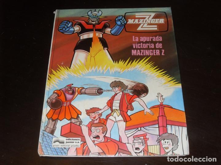 MAZINGER Z Nº 4. EDICIONES JUNIOR. GRIJALBO. 1978. LA APURADA VICTORIA DE ... (Tebeos y Comics - Grijalbo - Otros)