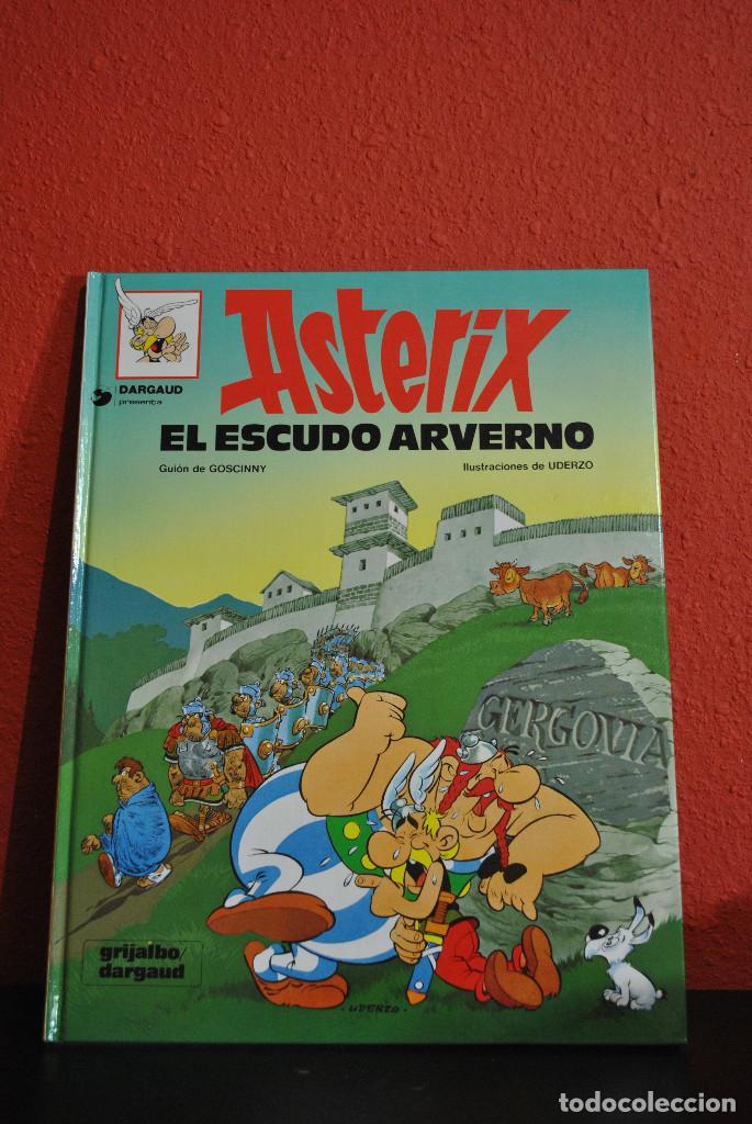 ASTERIX-EL ESCUDO ARVERNO (Tebeos y Comics - Grijalbo - Asterix)