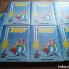 Comics: COLECCION DE 7 TOMOS LAS AVENTURAS DE ASTERIX...GRIJALBO / DARGAUD 1980. Lote 235146435