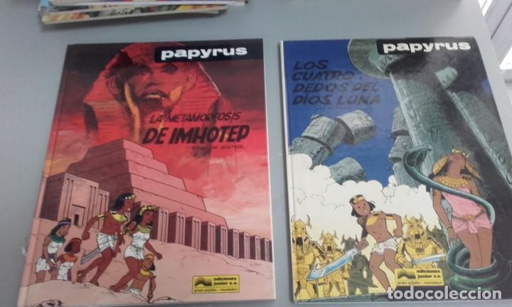 Cómics: X PAPYRUS 6. LOS CUATRO DEDOS DEL DIOS LUNA, DE DE GIETER (GTIJALBO) - Foto 2 - 235156310