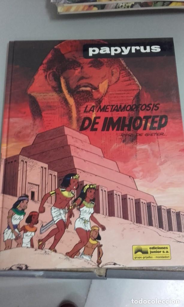 X PAPYRUS. LA METAMORFOSIS DE IMHOTEP (GRIJALBO) (Tebeos y Comics - Grijalbo - Papyrus)
