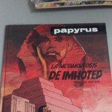 Cómics: X PAPYRUS. LA METAMORFOSIS DE IMHOTEP (GRIJALBO). Lote 235156670