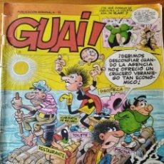 Cómics: GUAI! Nº 15 - EDICIONES JUNIOR GRIJALBO-. Lote 235461360