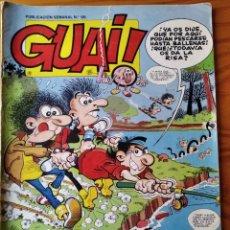 Cómics: GUAI! Nº 66 - EDICIONES JUNIOR GRIJALBO-. Lote 235461870