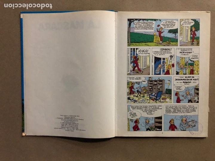 """Cómics: LAS AVENTURAS DE SPIROU Y FANTASIO """"LA MÁSCARA"""". EDICIONES JUNIOR EDITORIAL GRIJALBO 1988. - Foto 3 - 235526110"""