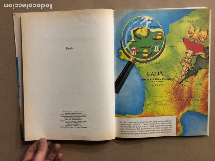 Cómics: AZTERIXEN ODISEA. EN EUSKERA. GOSCINNY - UDERZO. JUNIOR ARGITARAPENAK - GRIJALBO ARGITALDEA 1989 - Foto 3 - 276373933