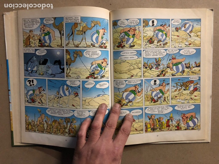 Cómics: AZTERIXEN ODISEA. EN EUSKERA. GOSCINNY - UDERZO. JUNIOR ARGITARAPENAK - GRIJALBO ARGITALDEA 1989 - Foto 8 - 276373933