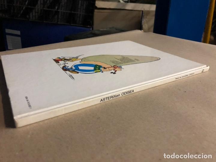 Cómics: AZTERIXEN ODISEA. EN EUSKERA. GOSCINNY - UDERZO. JUNIOR ARGITARAPENAK - GRIJALBO ARGITALDEA 1989 - Foto 10 - 276373933